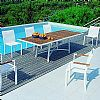 Outdoor Patio Furniture Sets - Outdoor Dining Set Rivage 9-Piece